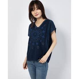 Tシャツ半袖 DETROIT (ブルー)