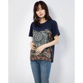 Tシャツ半袖 MAINE (ブルー)