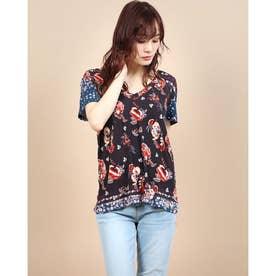 Tシャツ半袖 ANTOINE (グレー/ブラック)