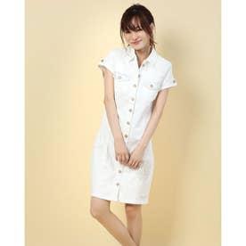 DRESS SHORT SLEEVE VEST_DIAMANTINA_REP (ホワイト)