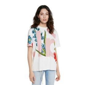 Tシャツ半袖 DSGL (ホワイト)