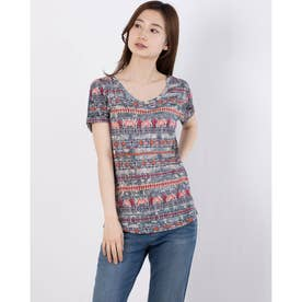 Tシャツ半袖 SANTORINI (ブルー)