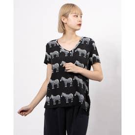 Tシャツ半袖 BOKAN (グレー/ブラック)