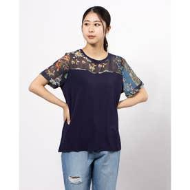 Tシャツ半袖 VIENA (ブルー)