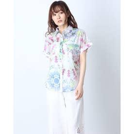 シャツ半袖 SHEILA (ホワイト)