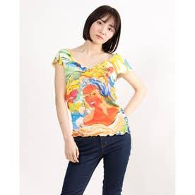 Tシャツ半袖 CUBA (マルチ)