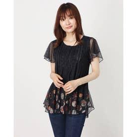 Tシャツ TS_NORTE (グレー/ブラック)