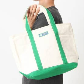 DISCUS CANVAS TOTE M (GREEN)