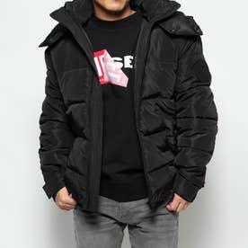 中綿ジャケット W-SMITH-YA-WH (ブラック)