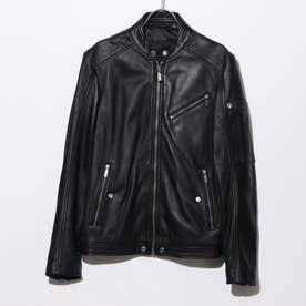 シングルライダースジャケット (BLACK)