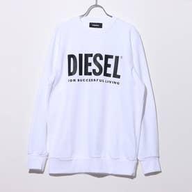 ロゴスウェットシャツ (WHITE)S-GIR-DIVISION-LOGO SWEAT-SHIR