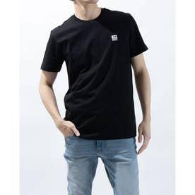 ワンポイントロゴTシャツ (ブラック)