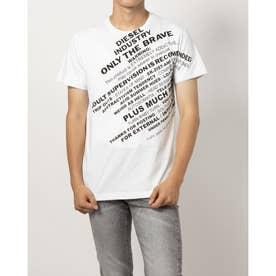 ショルダープリントTシャツ (ホワイト)