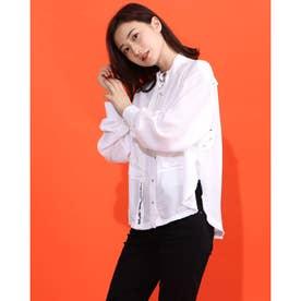 ロングスリーブシャツ (WHITE)C-SUPER-E