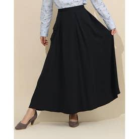 ボリュームカーゴロングスカート (ブラック)