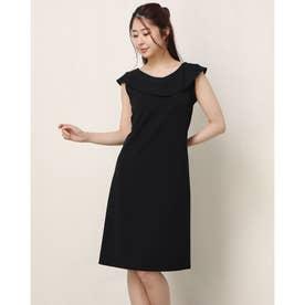 アンブラキアラバックリボンブラックドレス (ブラック)