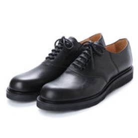 BILLY (Saddle Oxford Shoes) (ALL BLACK)