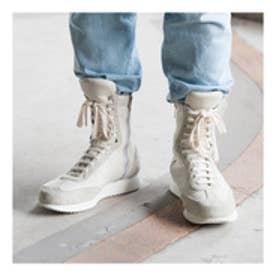 ALI (Hi-Top Boxing Sneakers) (WHITE)