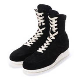 ALI (Hi-Top Boxing Sneakers) (BLACK)