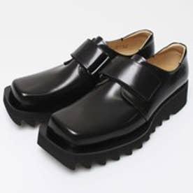 NIK (Square-Toe Shoes) (BLACK)