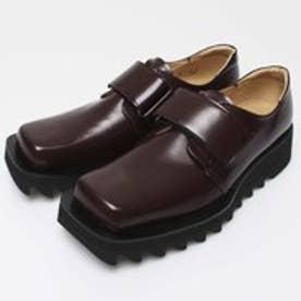 NIK (Square-Toe Shoes) (WINE RED)