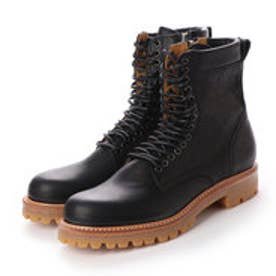 CREOLE (Lace-Up Boots) (BLACK)