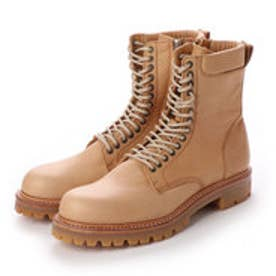 CREOLE (Lace-Up Boots) (BEIGE)