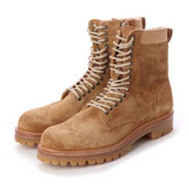CREOLE (Lace-Up Boots) (BEIGE-SUEDE)