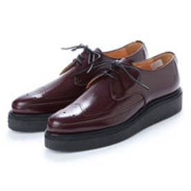 REE (Pointed Toe Rubber Sole Shoes) (WINE)