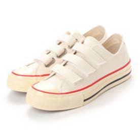 JULIAN (Low-Top Vulcanized Sneakers) (WHITE)