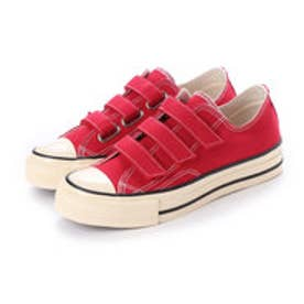 JULIAN (Low-Top Vulcanized Sneakers) (RED)