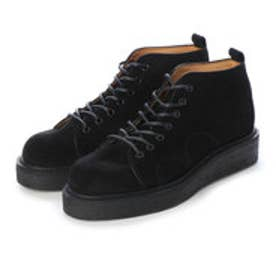 PETE (Rubber Sole Monkey Boots) (BLACK)