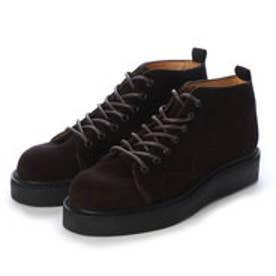 PETE (Rubber Sole Monkey Boots) (DARK BROWN)