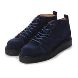 PETE (Rubber Sole Monkey Boots) (NAVY)