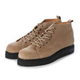 PETE (Rubber Sole Monkey Boots) (BEIGE)
