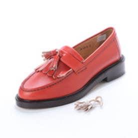 ELTON (Tasseled Loafers) (RED)