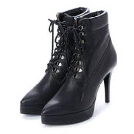 BEY (Pin Heels Work Boots) (BLACK)