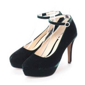 JANE (Ankle Strap Platform Pumps) (GREEN)