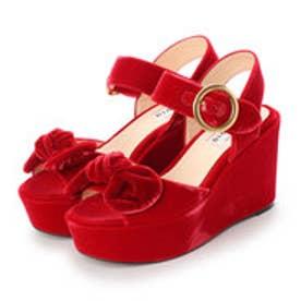 OLIVIA (Platform Sandals) (RED)
