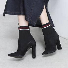 ブーツ (黒スエード)
