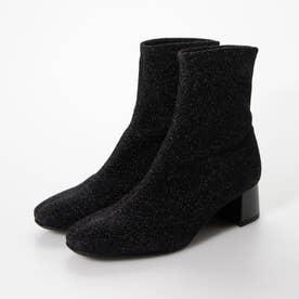 ブーツ (黒ストレッチ)