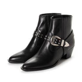 ブーツ MR64360 (黒カーフ)