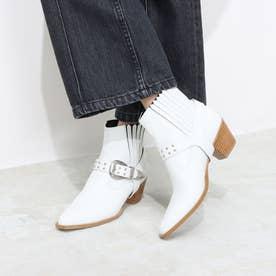 ブーツ MR64360 (白カーフ)
