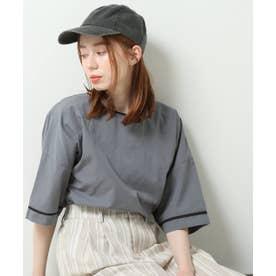 DOUBLE NAMEパイピング2WAYシャツプルオーバー (スミクロ)