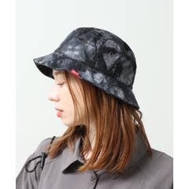タイダイ染めバケットハット (黒)