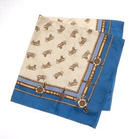 キャリッジスカーフ (BLUE)