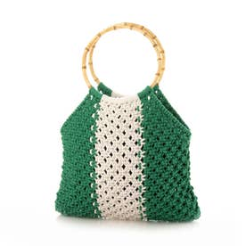 Flag Crochet Bag (GREEN)