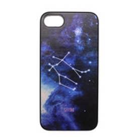 iPhone7 Twinkle Case Black ふたご座(Gemini) (ブラック)