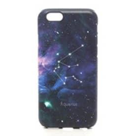 iPhone6s/6 タフケース 星座 みずがめ座 (ネイビー)