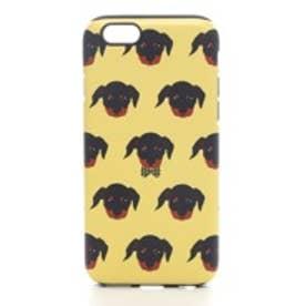 iPhone6s/6 タフケース Fashionable Dog シリーズ Dachshund (イエロー)